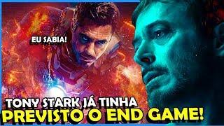 """#Vingadores4 #Marvel #TonyStark #EndGame #Ultimato  O Tony Stark ja tinha previsto o """"End Game"""". Alias, você sabe o que significa o nome do filme de Vingadores 4...   Bora comprar o livro do Ei nerd? https://www.zoom.com.br/livros/almanaque-ei-nerd-universo-dos-livros-9788550302096   https://www.instagram.com/petjordan Canal PETER AQUI: https://goo.gl/4RsjRS  Se inscreva no Ei Nerd: http://goo.gl/J8l7PJ  EI NERD _ http://www.einerd.com.br Facebook    : https://www.facebook.com/einerd.com.br Grupo           : https://www.facebook.com/groups/Einerd Twitter         : https://twitter.com/Ei_Nerd Publicidade: isabela@einerd.com.br Ideia para Vídeos: Instagram: @renanralts https://www.instagram.com/renanralts/ Facebook: https://www.facebook.com/renanralts  PETER JORDAN _ https://www.facebook.com/petjordan https://twitter.com/peterjordan100 https://www.instagram.com/petjordan  MANDE UM PRESENTINHO :)  Caixa Postal 95121 - Cep: 25655-970 Petrópolis / RJ"""