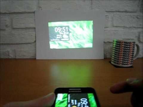Video Proyektor Samsung Galaxy Beam I8530