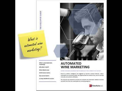 Automated Wine Marketing - Executive Briefing
