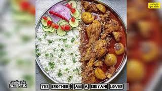 Yes brother i am a biriyani lover,,,