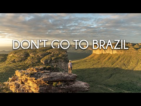 Não ponha seus pés no Brasil...