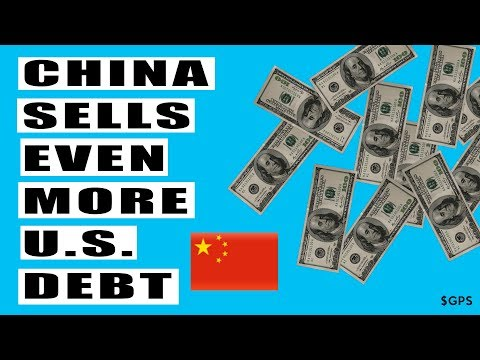 China Sold More US Debt! Will NOT Be Largest Holder Very Soon! Strategy or Desperation?