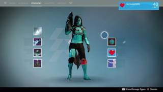Destiny Year 3 Ghost Angel armor set