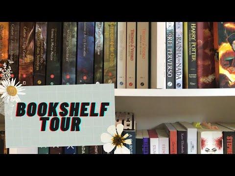 Bookshelf tour | Lendo com Bia