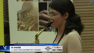 Ita Nagode plays Suite BWV 1011 Prelude by J.S. Bach