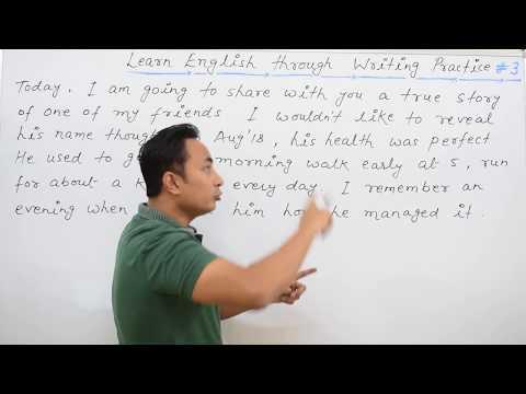 English Writing Practice # 3 | Spoken English Guru