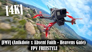 [4K] [FMV] (Anikdote x Absent Faith - Heavens Gate) FPV FREESTYLE. TBS Source One, Reno, NV