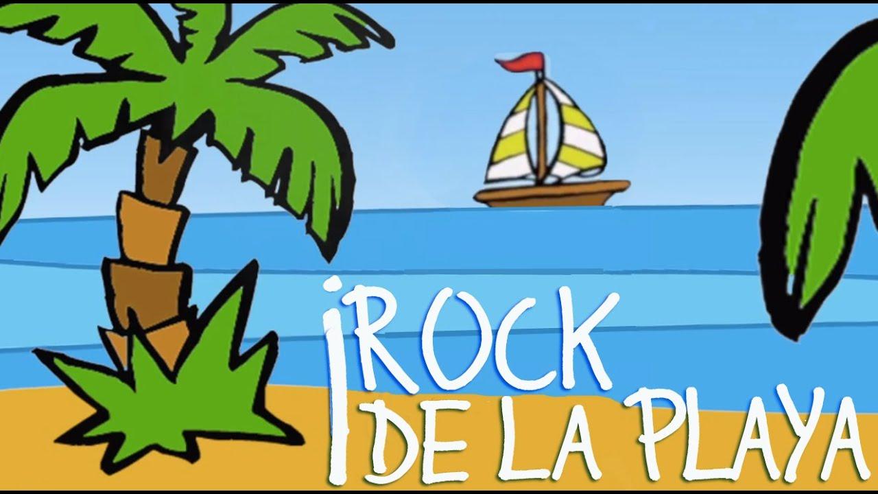 ROCK DE LA PLAYA. Dubbi Kids. Canciones para niños