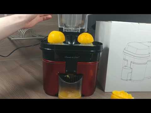 Rosenstein & Söhne Elektrische Duo-Orangenpresse - Produktvorstellung