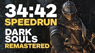 Gambar cover Dark Souls Remastered Finished In 34 Minutes - Speedrun