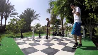 Palms Chess (Hurghada) - GoPro4 [by Dtrip]
