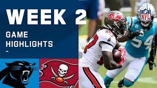 Panthers vs. Buccaneers Week 2 Highlights   NFL 2020