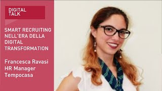 Youtube: Francesca Ravasi, HR Manager | Tempocasa | Digital Talk | Indeed