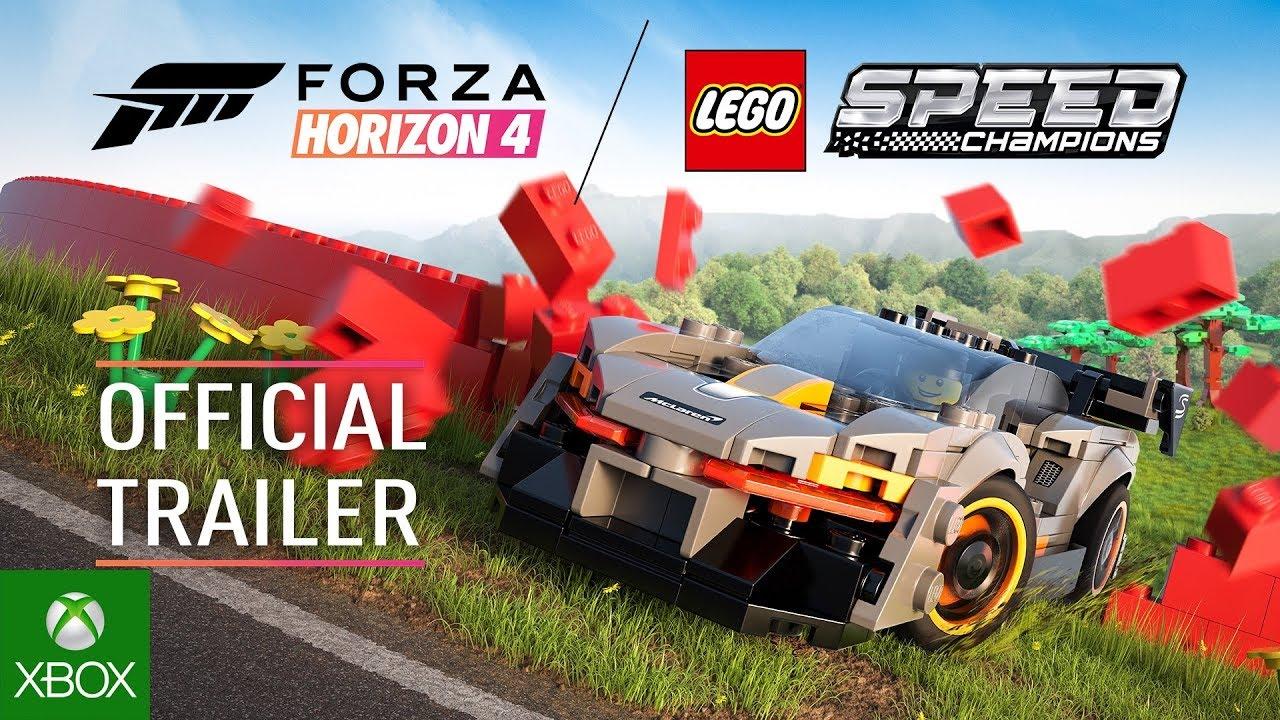 Video forAvailable Now: Xbox One Forza Horizon 4 LEGO Speed Champions Bundles