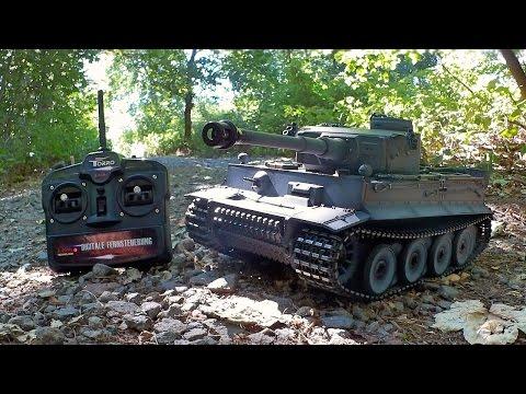 Torro TIGER I -  RC Panzer (2.4GHz / 1:16) von Torro-Shop.de / Testbericht & Testfahrt