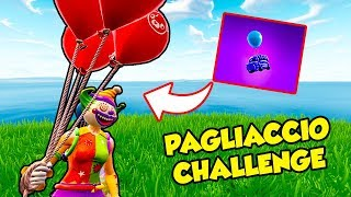 Palloncino CHALLENGE su Fortnite Battle Royale