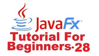 JavaFx Tutorial For Beginners 28 - JavaFX Charts : Line Chart