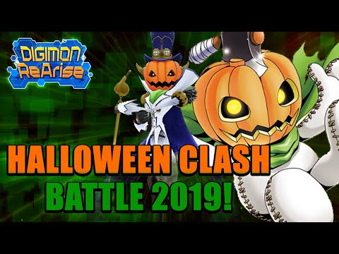 Digimon ReArise | New Halloween Clash Battle Event 2019!