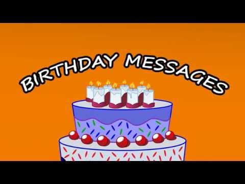 Video of Birthday Cards & Messages