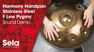 Handpan F Low Pygmy Stainless Steel