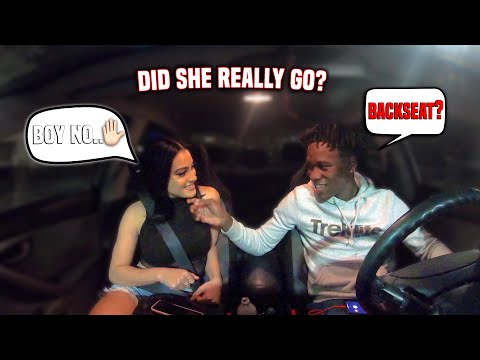 I Asked My Friend Lets Go In The Backseat | And This Happened !