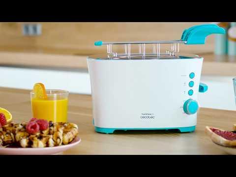 Tosatadora Toast & Taste 2S 850 W Cecotec