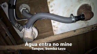 BOMBA DE ÁGUA DO BANHEIRO DO MOTORCASA (VAN)