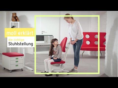 Wie stelle ich einen Kinderdrehstuhl richtig ein
