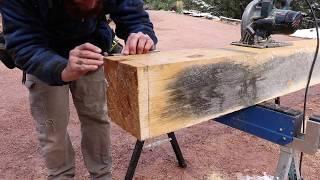 POST & BEAM CONSTRUCTION: posts & sill plates