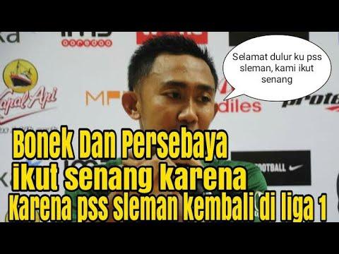 Persebaya dan Bonek Mania Senang PSS Sleman Naik Kasta - Berita Olahraga Terkini