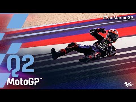 MotoGP 2021 第14戦サンマリノ 予選Q2タイムアタックのハイライト動画