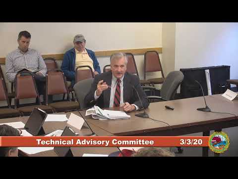 Technical Advisory Committee 3.3.2020