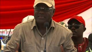preview picture of video 'President Koroma motivates the shy Loko Tribe'