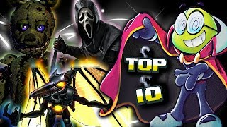 Top Ten Slayers in Video Games