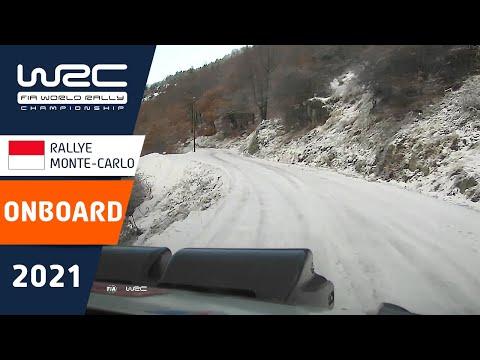 オンボード映像で見ると100倍楽しめるWRC 2021 開幕戦のラリーモンテカルロ オンボード映像まとめ1