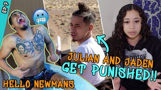 """""""I'm In PAIN!"""" Jaden Newman Gets Punished By Grandma! Julian Newman FREAKS OUT In Ice Bath 😂"""