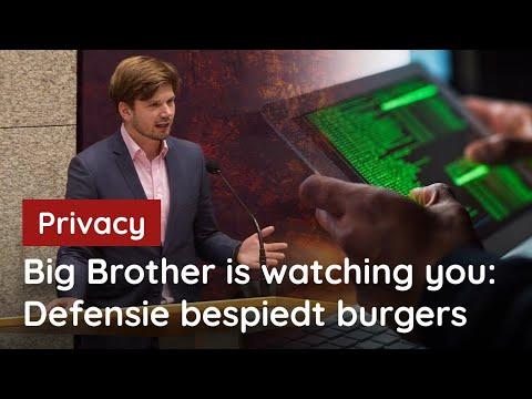 Nederland mag geen Big Brother-staat worden!