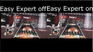 gh3 easy expert vs normal expert