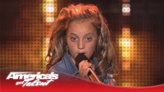 """Chloe Channell - Reba McEntire """"Turn on Your Radio"""" Cover - America's Got Talent 2013"""