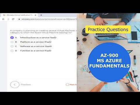 AZ-900 Exam Questions (Microsoft Azure Fundamentals ... - YouTube