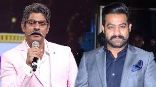 Actor Jagapathi Babu Speech  about Jr  NTR s Style At Siima South Indian International Movie Awards