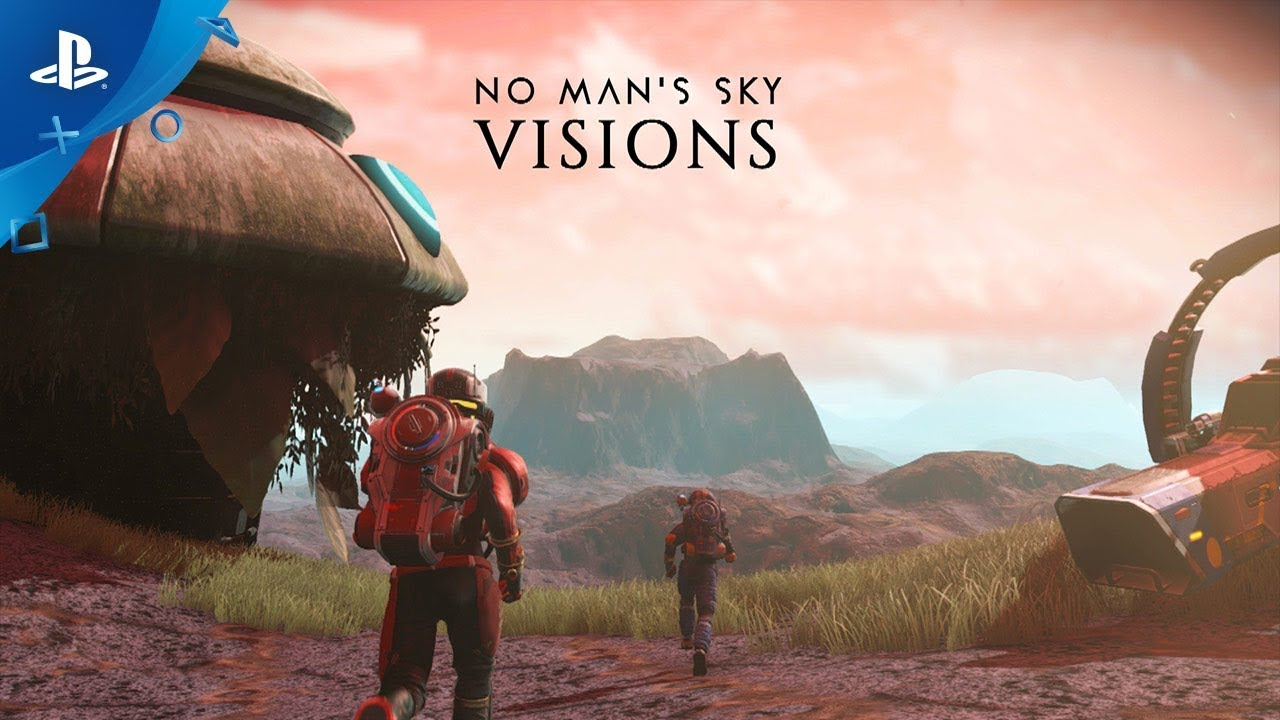 "No Man's Sky ""Visions"" Update Launches Tomorrow"