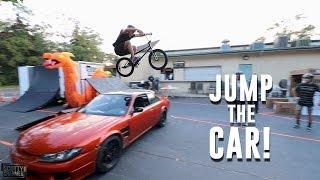 СУМАСШЕДШАЯ ПОЛОСА ПРЕПЯТСТВИЙ ДЛЯ BMX! СКОТТИ КРАНМЕР CRAZY BICYCLE OBSTACLE COURSE!