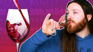 Irish People Try American Wine