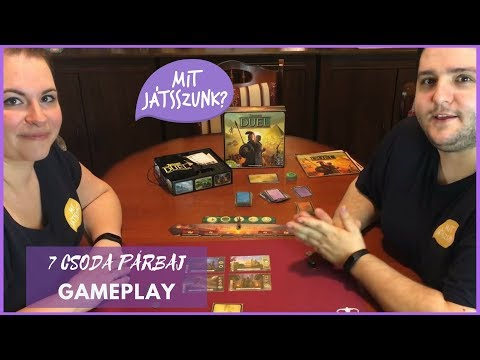 7 Csoda Párbaj Játékparty (Gameplay) - Mit Játsszunk?