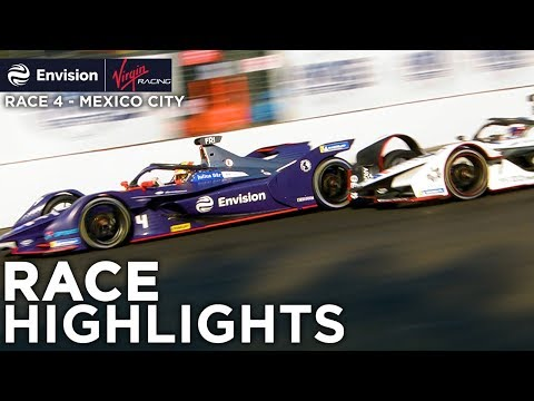 Formula E Mexico City E-Prix Race Highlights! (Envision Virgin Racing)