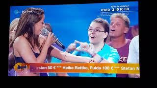 Vanessa Mai Mit MAITEAM   STÄRKER   Willkommen Bei Carmen Nebel