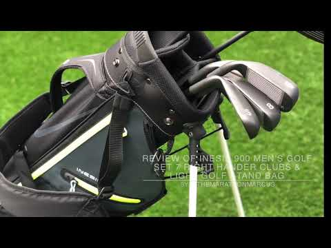 Decathlon Inesis 900 Men's Golf Set and Golf Bag Review