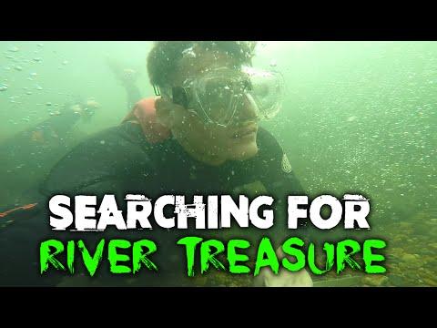 SEARCHING FOR RIVER TREASURE! | DALLMYD