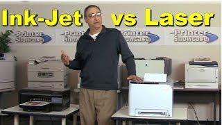 Ink-jet vs Laser Printer